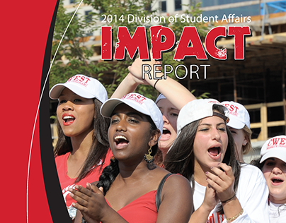 Student Affairs Impact Report booklet
