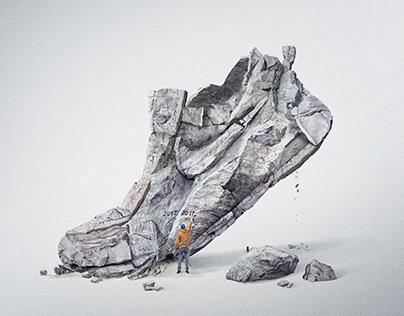 NIKE Sneaker Rock