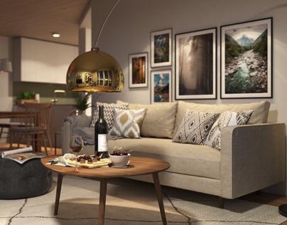 Apartment in Zurich 109m²