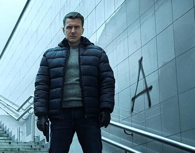 "Key visual for new season of ""Nevskiy"" TVC."