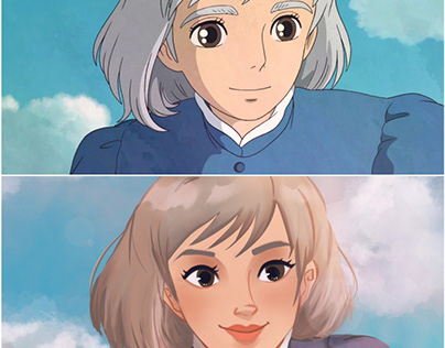 Howl's Moving Castle Sophie