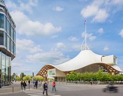 Architecture - Quartier de l'Amphithéâtre de Metz