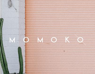 M o m o k o | logo design