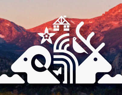 Rocky Mountain National Park Centennial Logo