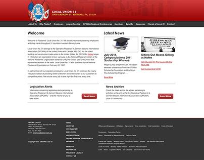 Plasterers' Local Union No. 31 Website
