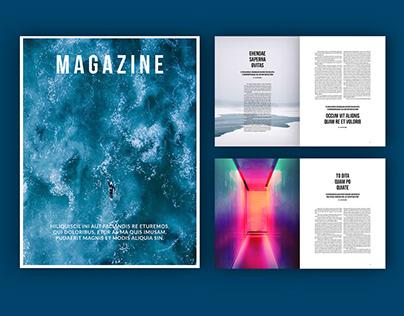 Adobe: Two-Column Magazine Layout (Download)