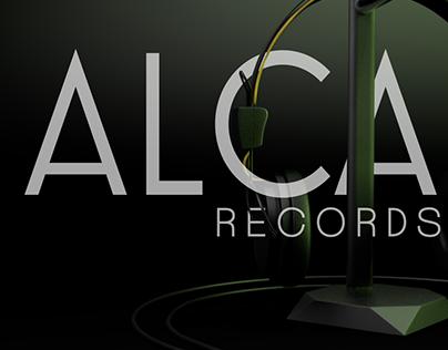 Branding Project 01. ALCA Records.