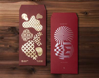 YEAR OF OX RED ENVELOPE DESIGN 牛年紅包設計