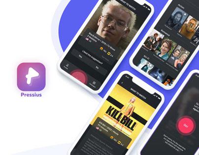 Pressius App   UX/UI