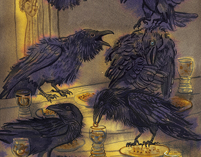 """The Seven Ravens"" fairy tale"