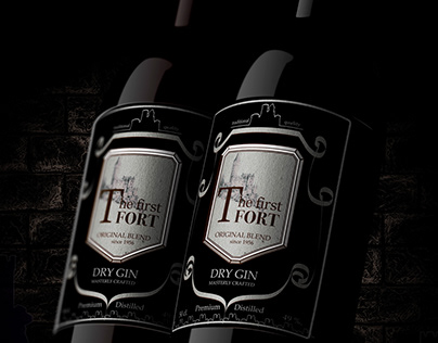 The first fortress is a new brand of gin