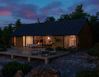 Nordic House (Sunset)