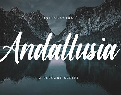 Andallusia-Bold Script