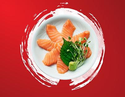 Sushi Bar Salmon Festival