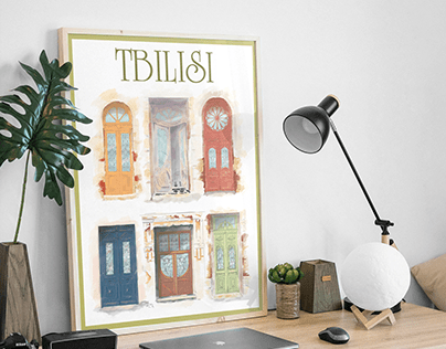 Posters of Tbilisi