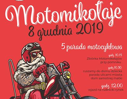 Plakat MotoMikołaje2019