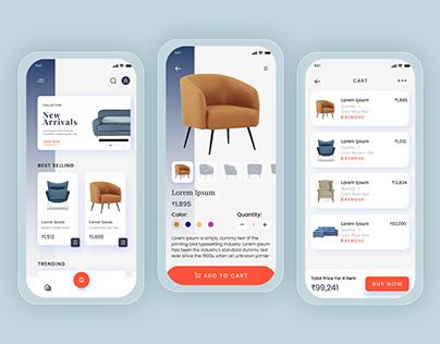 Mobile E-commerce-UI
