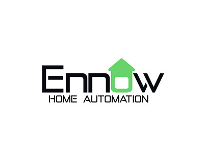 Logo Design   Ennow Home Automation