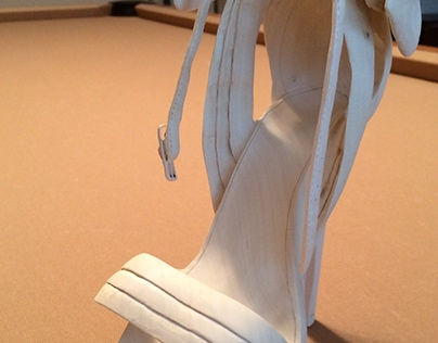 Louboutin Shoe Carving Commission
