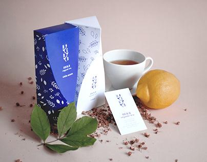 Her.B organic tea // Brand identity