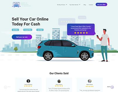 Online Car sale website