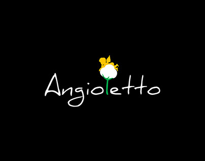 """Design style of flowers store """"Angioletto"""""""