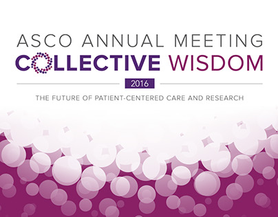 2016 ASCO Annual Meeting progam announcement