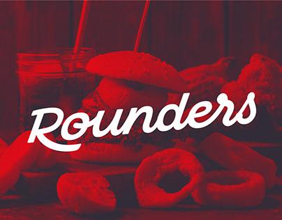 Rounders Chicken Brand Identity