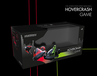 Hovercrash Game · Packaging artwork