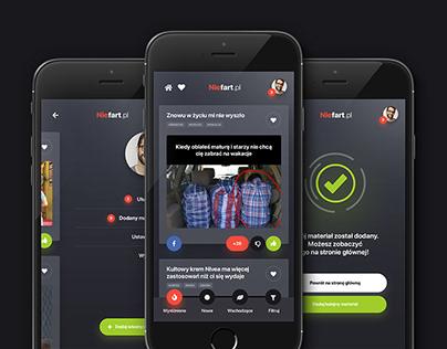 Website & Mobile Application www.niefart.pl
