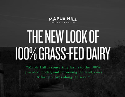 Maple Hill Creamery - 100% Grass-Fed