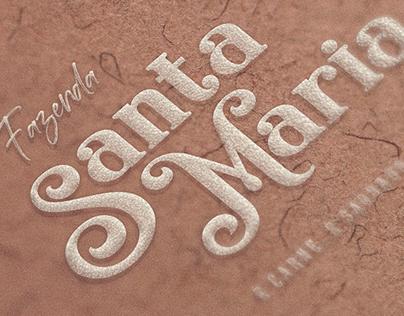 Proposta de Logo - Fazenda Santa Maria