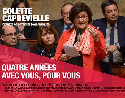 Bilan de mandat - Députée des Pyrenees Atlantiques 2016