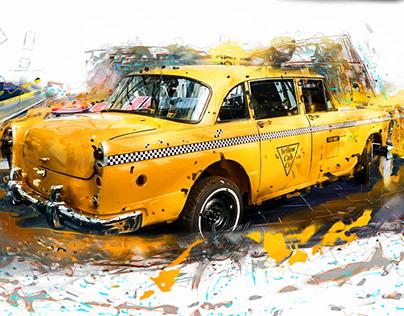 My Taxi sarvice logo graphic web design UI/ UX designr