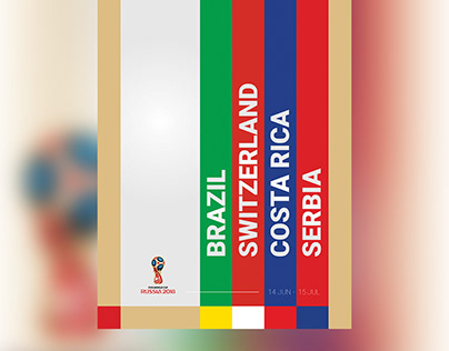 Posters - 2018 FIFA World Cup Russia (Group E)