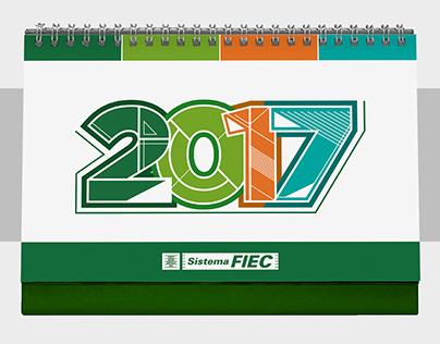 Calendário Institucional - Sistema FIEC 2017