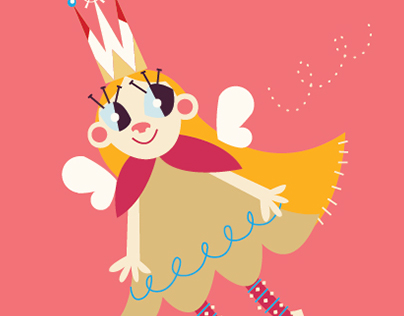 Vector Children's Characters and Type