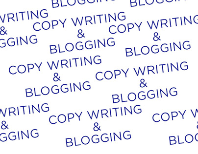 Copy Writing and Blogging