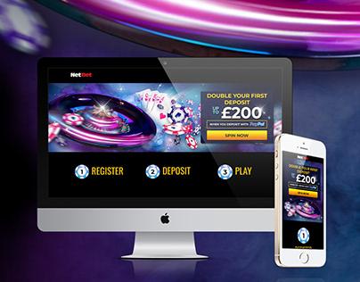 Landing Page - NetBet Casino