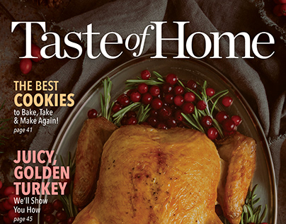 Taste of Home & Google Home Cover Series Pitch