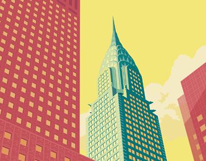 NYC illustrations