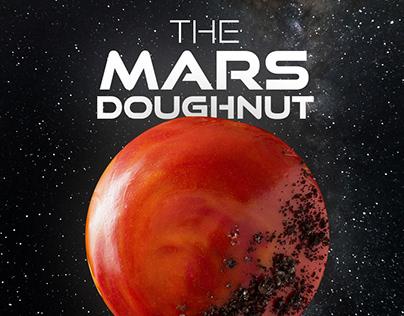 Krispy Kreme Mars Doughnut social media