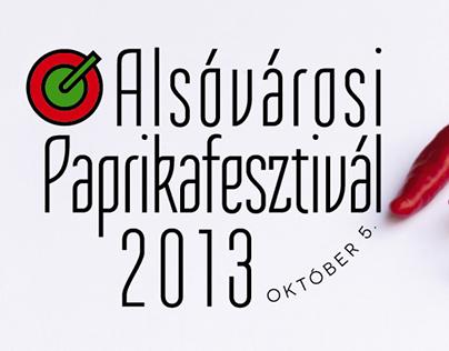 Alsóvárosi Paprikafesztivál 2013