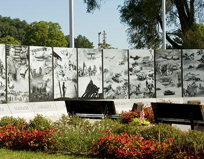 Reedsburg, Wisconsin Veterans' Memorial