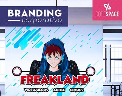 Freakland Branding