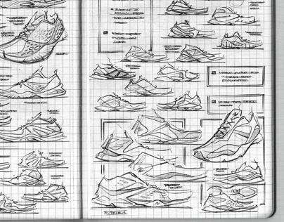 New Balance Sketchbook