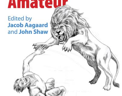 Grandmaster Versus Amateur bookcover design