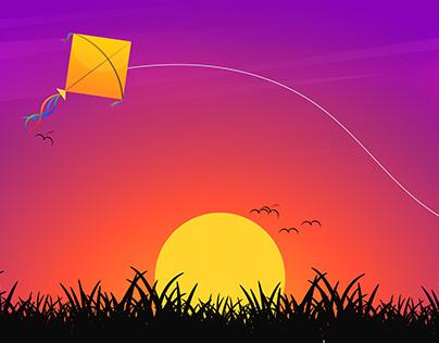 kite   Digital Art