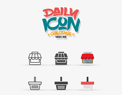 Daily Icon Challenge Week One