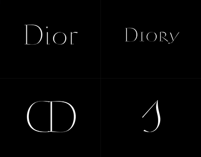 The Dior Typefaces.